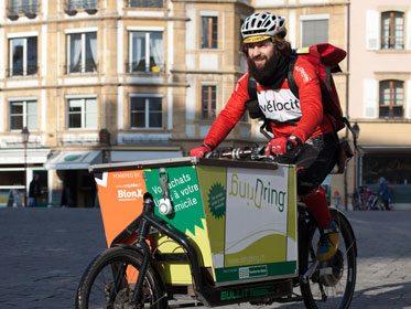 Un acteur majeur de la livraison à vélo